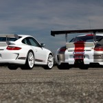 Porsche review 2011 Porsche 91 GT3 RS 4.0 First drive Rear angle view