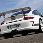 Porsche review 2011 Porsche 91 GT3 RS 4.0 First drive Rear angle view