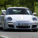Porsche review 2011 Porsche 91 GT3 RS 4.0 First drive Front view