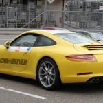 2012 new Porsche 911 (Porsche 991) Spy shot Rear angle side view