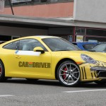 2012 new Porsche 911 (Porsche 991) Spy shot Front angle side view