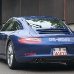2012 new Porsche 911 (Porsche 991) Spy shot Rear angle view