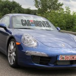 2012 new Porsche 911 (Porsche 991) Spy shot Front angle view