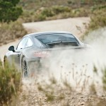 New Porsche 911 (Porsche 991) first drive Rear angle view