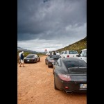 New Porsche 911 (Porsche 991) first drive Rear view