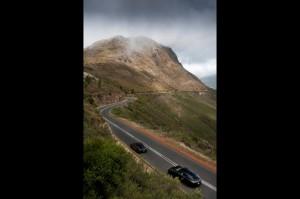 New Porsche 911 (Porsche 991) first drive Top angle view