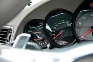 New Porsche 911 (Porsche 991) first drive Interior Dashboard