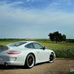 Porsche 911 Sport Classic 2011 Rear angle side view