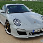 Porsche 911 Sport Classic 2011 Front angle view