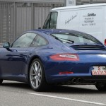 new Porsche 911 (2012 Porsche 991) Rear angle view